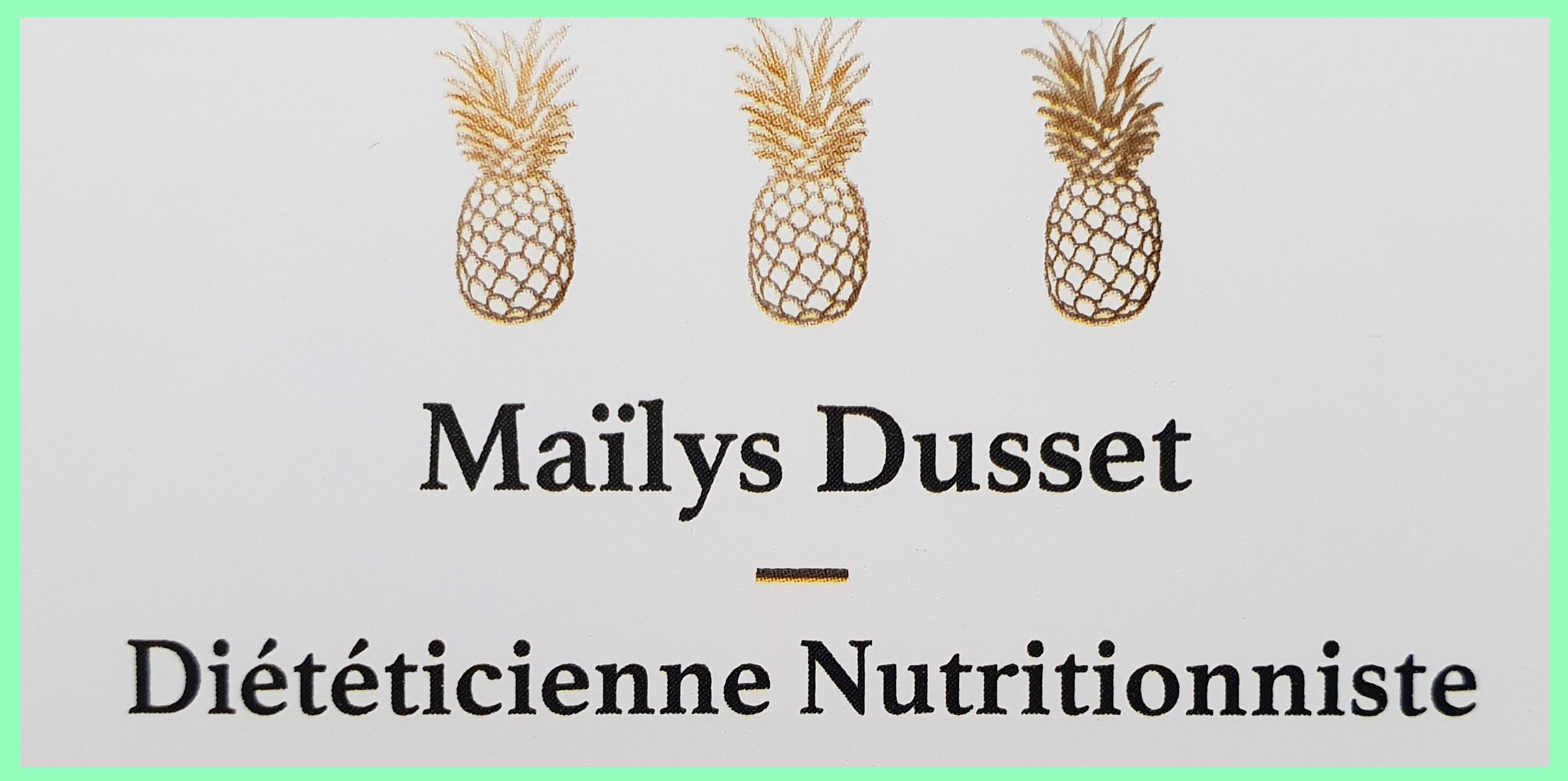 Maïlys Dusset   –   Diététicienne Nutritionniste